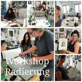 Workshop Radierung