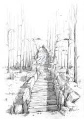 Upstairs to heaven (Bleistift)