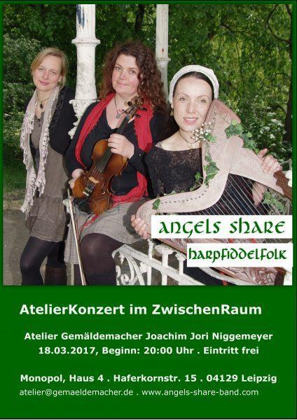 Plakat Angels Share.18.03.2017.Monopol