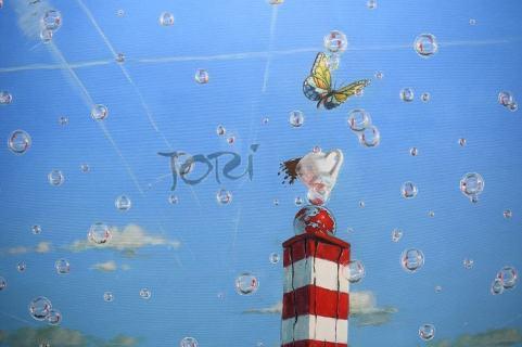 """Serie """"Bubbles, fragile Mirrors of life"""": Work in progress... """"Die Leichtigkeit und ... Venedig"""""""