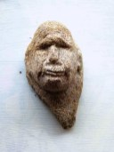 Skulptur, Kopf, Sandstein