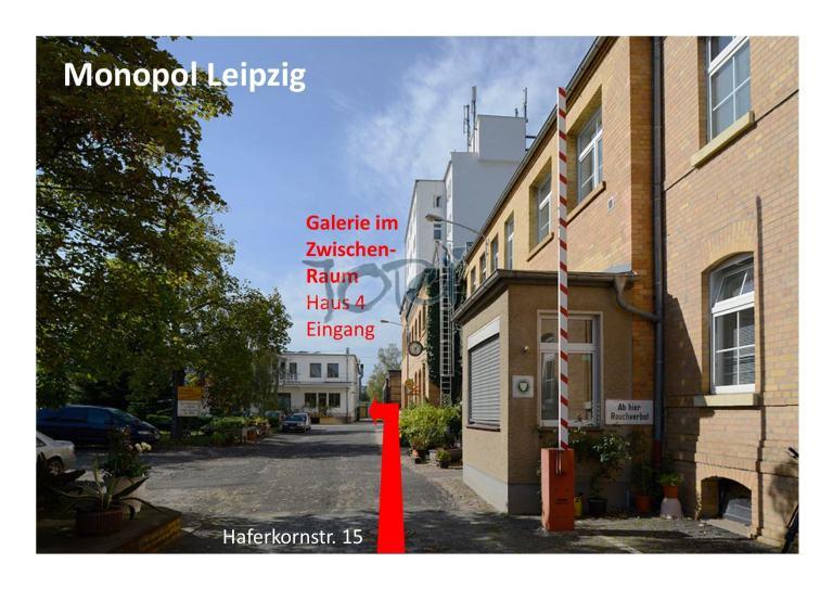Monopol Leipzig Eingang Galerie