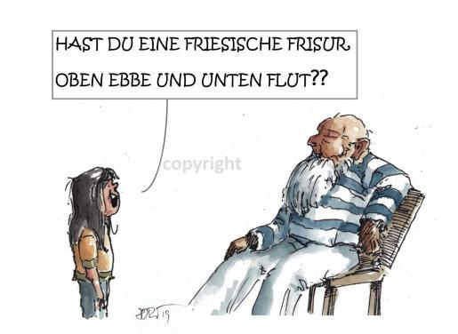Friesische Frisur...