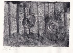 Monotypie, 14 x 21 cm