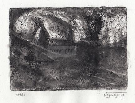 Monotypie, 10 x 14 cm