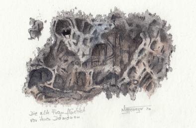 Monotypie, 14 x 20 cm