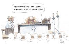 Striktes Alkoholverbot