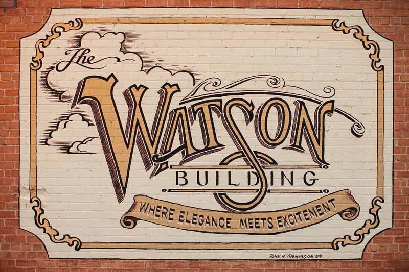 Watson Building, Lubbock wedding venue. Photo by Betsy. Texas wedding planner Jessica Ormond.