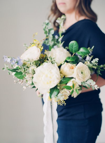 Bridal Bouquet designed by Jessica Ormond Events. Photo by Kelly Sweet.