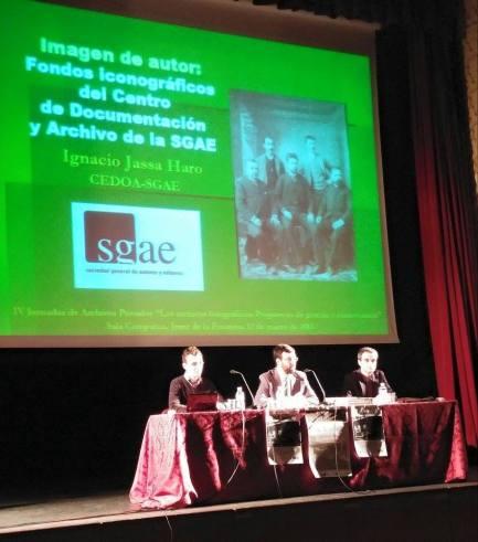 Conferencia Ignacio Jassa IV Jornadas de Archivos Privados