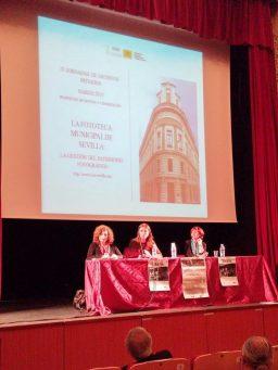 Conferencia Inmaculada y Elena Folleto Exposición Ragel IV Jornadas de Archivos Privados