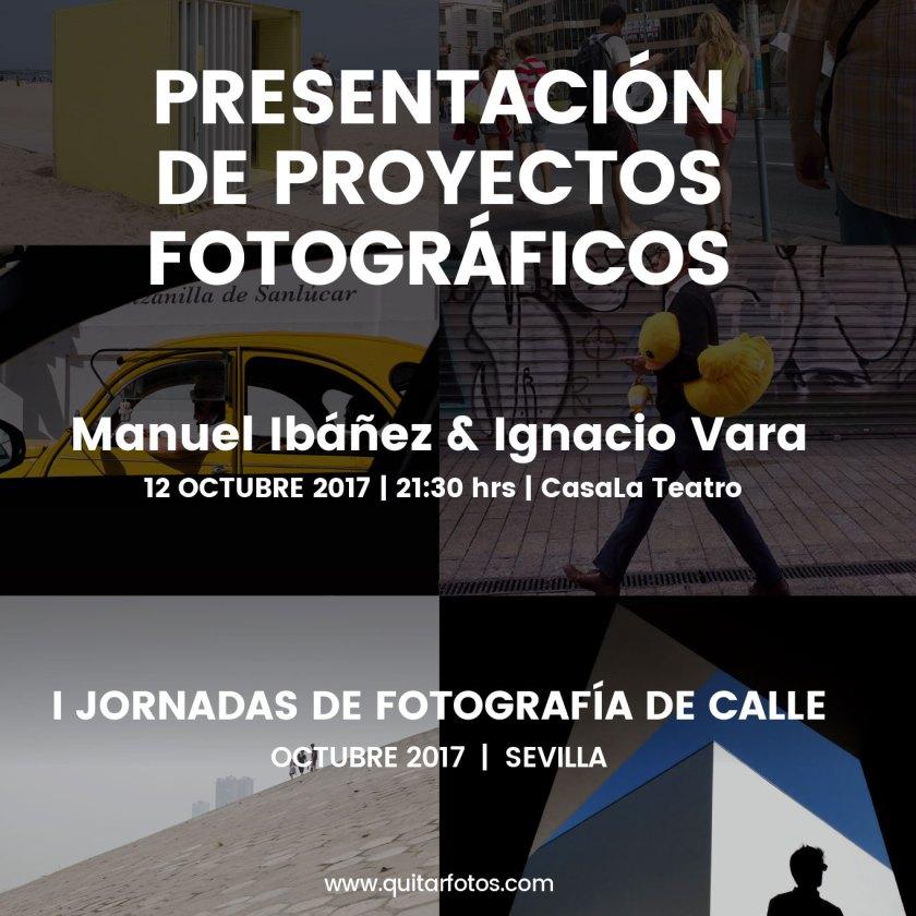 Presentación y charla proyectos Manuel Ibáñez & Ignacio Vara