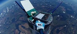 Experimento com sonda na alta atmosfera é premiado em evento internacional