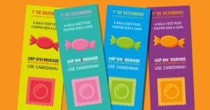 USP vai distribuir informativos e camisinhas em dia contra a Aids