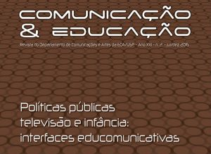 """""""Comunicação & Educação"""" tem edição sobre televisão e infância"""