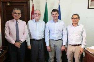 Reitor se reúne com prefeito de Ribeirão Preto sobre parque tecnológico