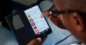 Transações bancárias pelo celular cresceram 28%