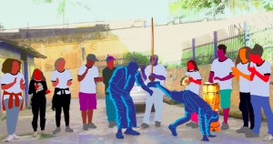 Capoeira busca reconhecimento social junto a jovens de escolas públicas