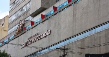 O Instituto do Coração do Hospital das Clínicas é um centro de pesquisa e ensino especializado em cardiologia, pneumologia e cirurgias cardíaca e torácica Foto: Marcos Santos/USP Imagens
