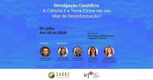 Evento on-line discute papel da ciência no combate à desinformação