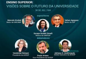 Reitores discutem diferentes cenários para o futuro das universidades