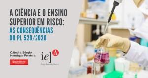Conferência on-line debate projeto de lei que traz riscos à ciência e às universidades