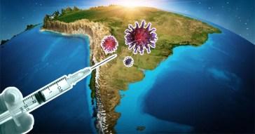 Cumprir o cronograma de vacinação é essencial para combater a pandemia de Covid-19 -Fotomontagem: Moisés Dorado / Jornal da USP