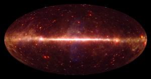 Astrofísicos brasileiros produzem mapa com a mais nítida imagem do céu já feita