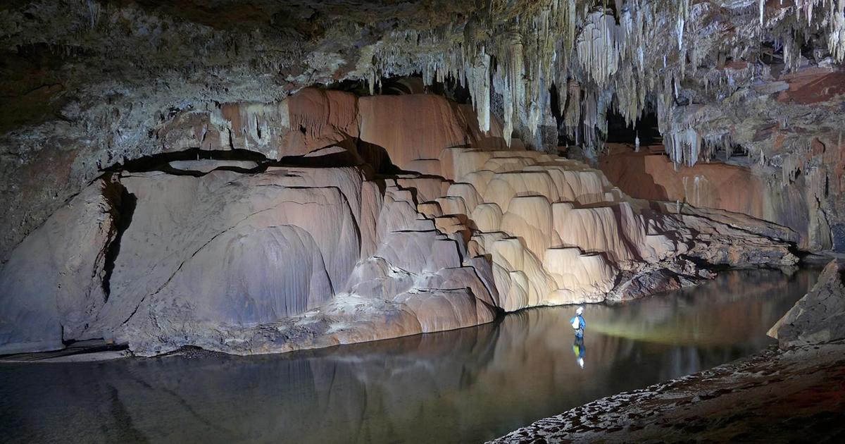 Caverna São Mateus (GO) - Foto: Daniel Menin