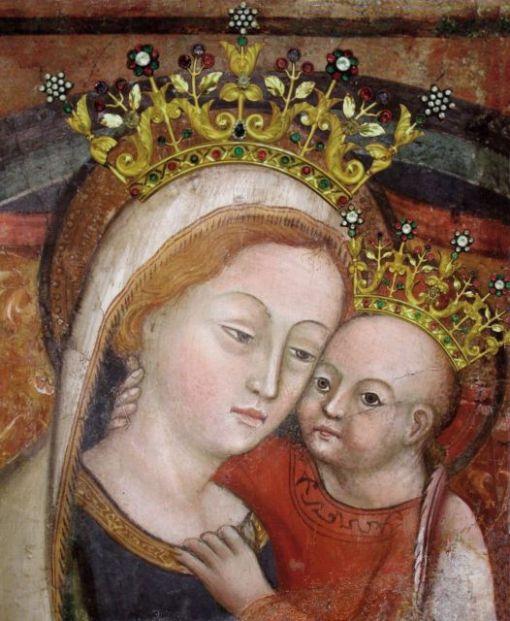 Mãe do Bom Conselho como se venera na cidade de Genazzano, Itália.