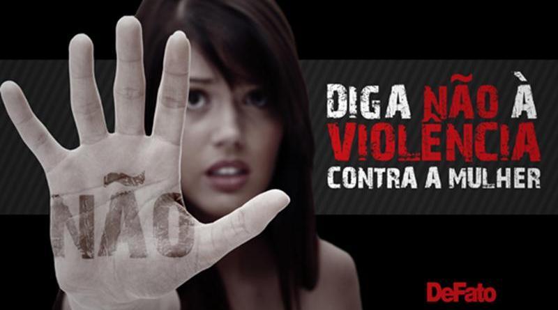 Diga Não à violência contra as mulheres