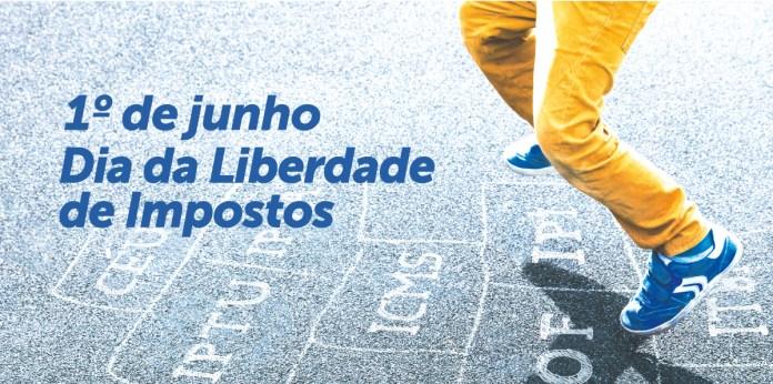 foto bonita-pulando amarelinha-Liberdade de Impostos-dia sem imposto-iof-icms