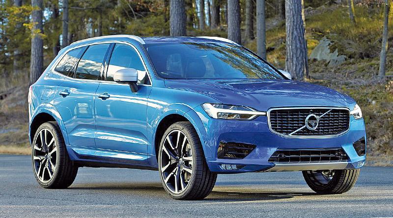 Volvo carro compacto híbrido