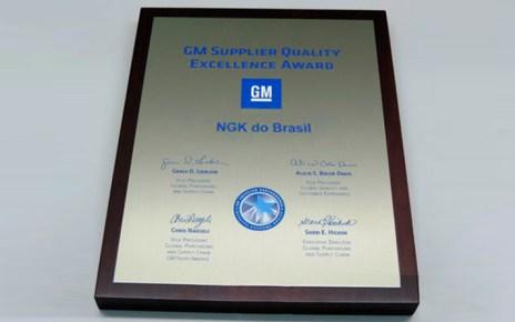 ngk-fabricnates-placa premio-Qualidade de Fornecedor