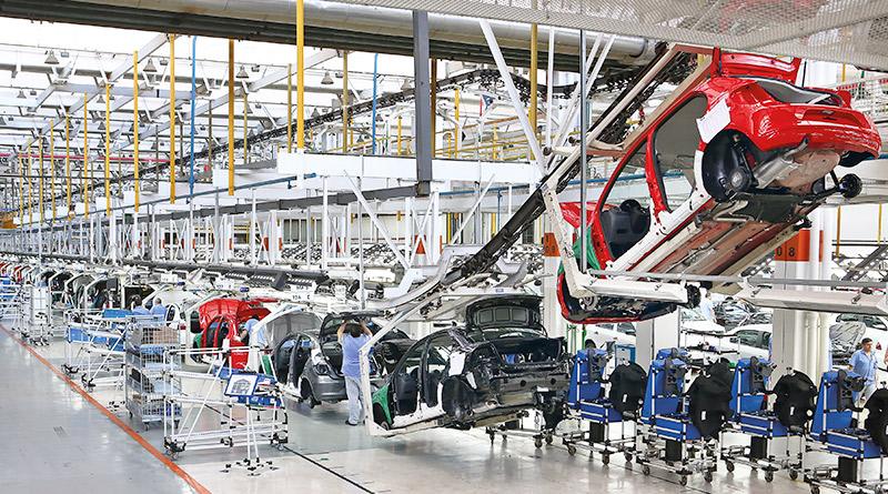 Mercado automotivo-montagem-fabricação