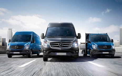 vendas da Linha Sprinter-vans-transportes-mercedes benz