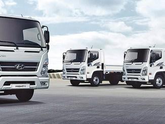 caoa, hyundai, xcient, fábrica da ford, caminhões semi-pesados e pesados no Brasil