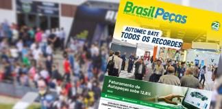 Mercado de Autopeças aquece, automec, revista brasil peças,