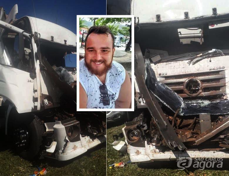 Caminhoneiro de 23 anos morre em acidente na SP-310, em Taquaritinga - São Paulo