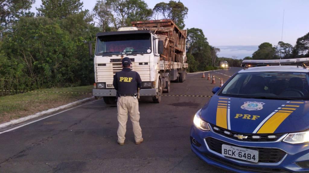 PRF encontra Caminhoneiro com covid-19 que fugiu do isolamento em hospital de Goiás.