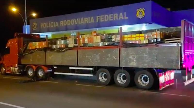 Carga de R$ 20,5 milhões: PRF apreende 25,7 toneladas de maconha em Naviraí (MS)
