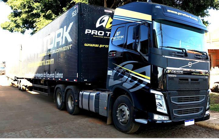 Criminosos roubam carga de caminhão da PRO TORK em MG