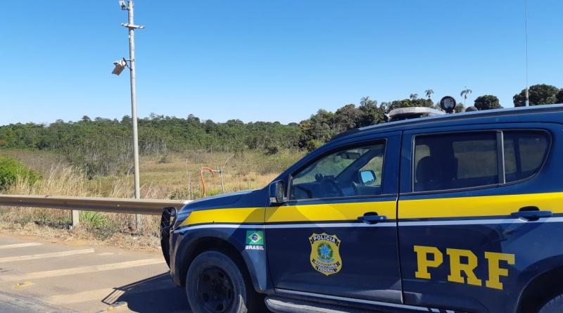 Caminhoneiro é detido após quebrar duas vezes radar na BR-020, em Formosa