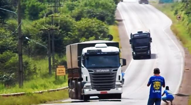 PRF lança campanha para inibir a 'Quebra-de-asa' nas rodovias.