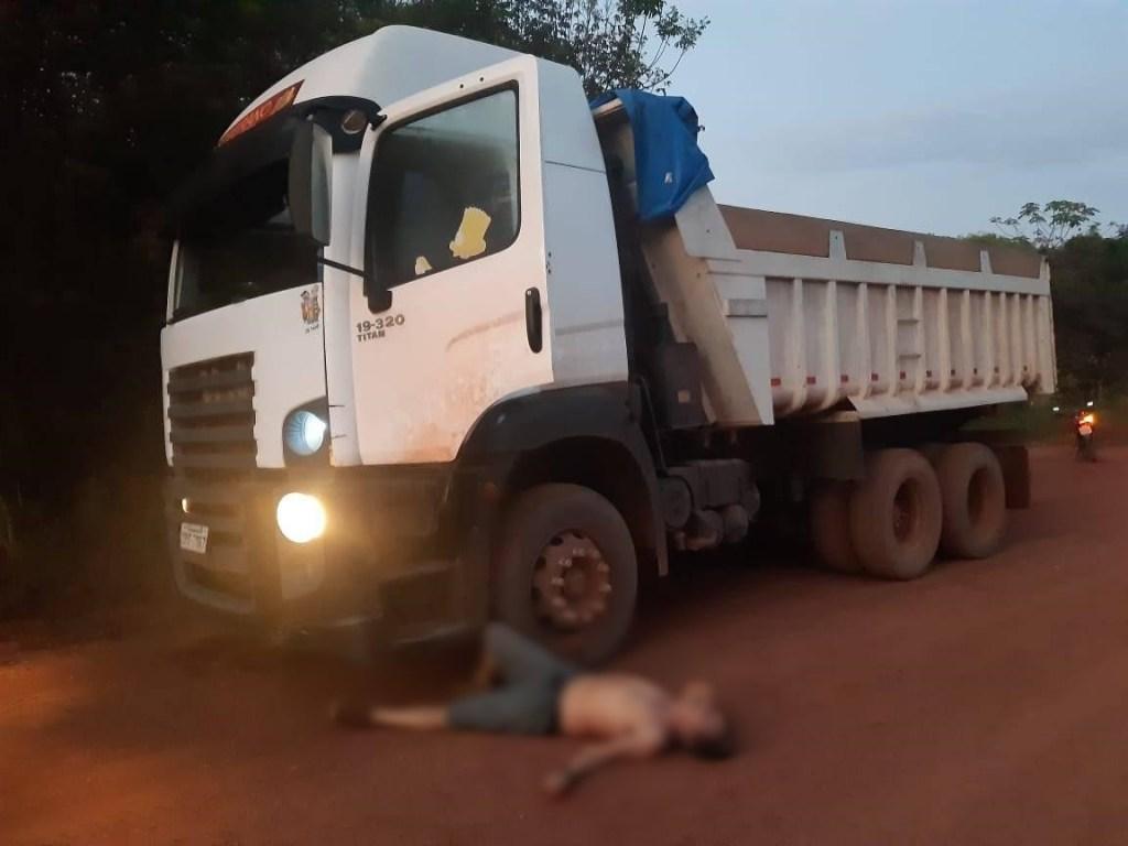 Caminhoneiro consegue parar veículo antes de falecer no Amapá