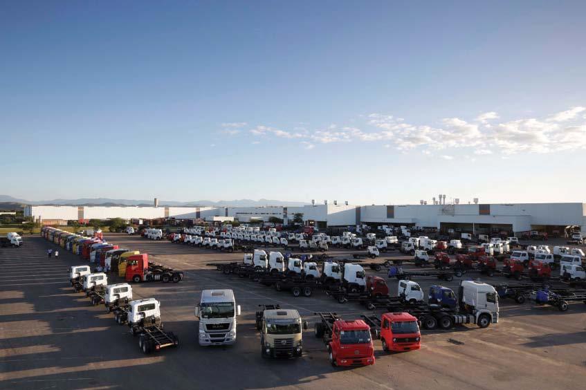 Volkswagen vende de uma só vez 1.350 caminhões para JSL