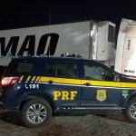 PRF recupera carreta que havia sido roubada há poucas horas na BR-230