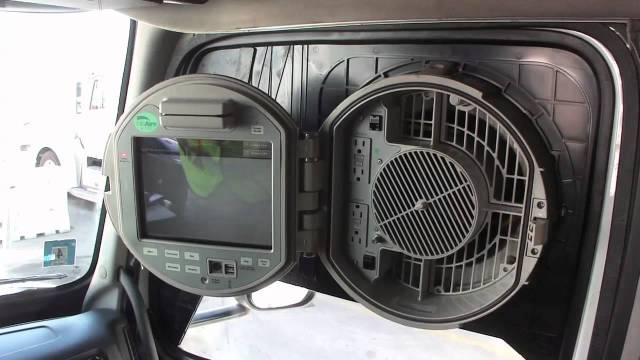 Paradas de caminhões nos EUA contam com ar condicionado externo, internet e TV