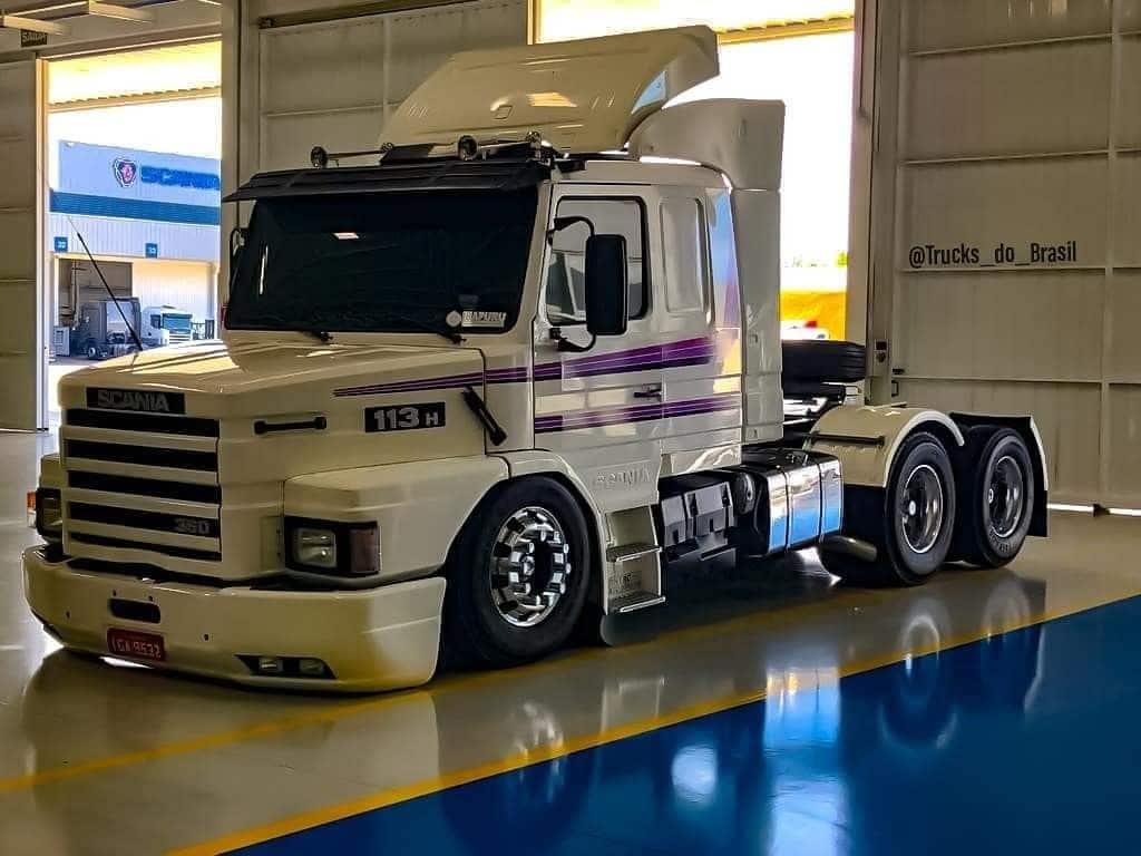 Scania 113 H ainda é o caminhão mais procurado do Mercado Livre