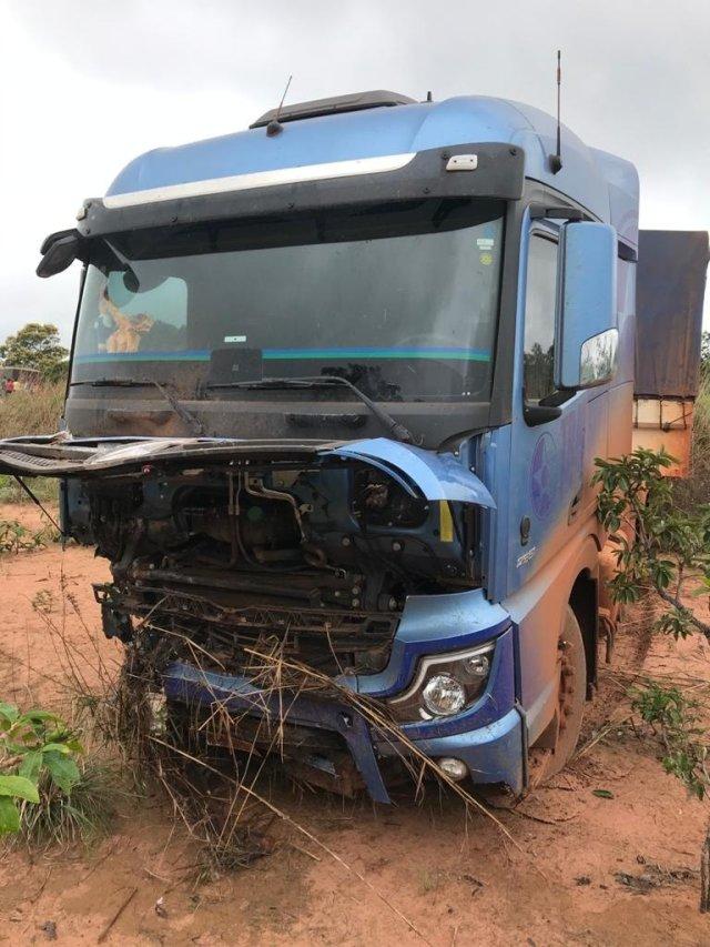 Actros recém adquirido pela Transoeste se envolve em acidente com vítimas fatais  MT-020